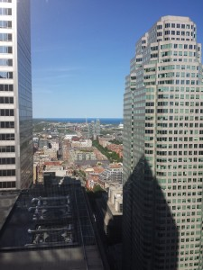 View from 38th Floor of the TD Tower looking East