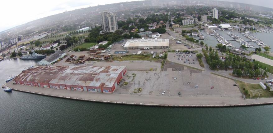 pier 8 aerial